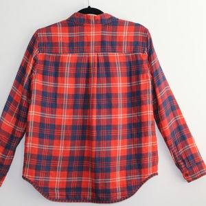 Madewell Tops - Madewell Flannel Button Down Shirt XS